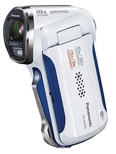 Panasonic デジタルムービーカメラ 防水&タフ設計 ホワイト HX-WA30-W