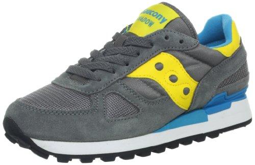 new concept 9905e 111ee Saucony Originals Women s Shadow Original Sneaker Grey Yellow White 9 5 M US