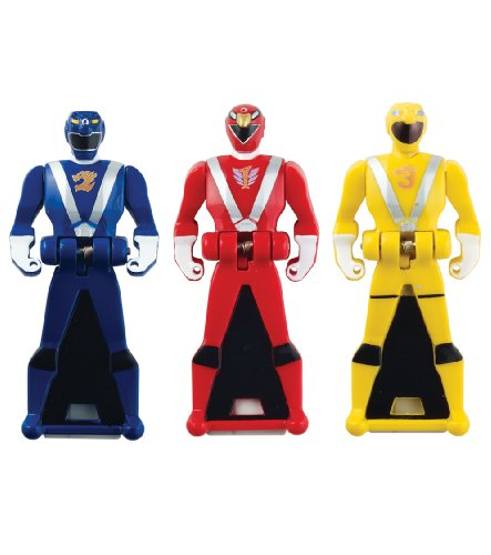 Power Rangers Super Megaforce - RPM Legendary Ranger Key Pack, Red/Blue/Yellow - 1