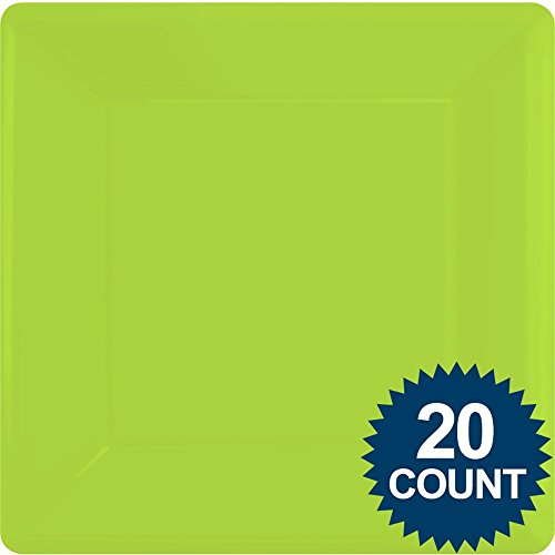 Kiwi Party Supplies Square Dinner Paper Plates 20ct [Toy] [Toy]