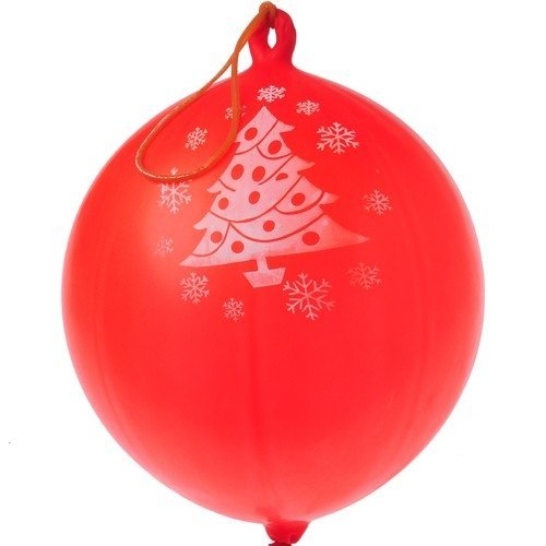 Christmas Tree Punch Balls - 12 per pack - 1