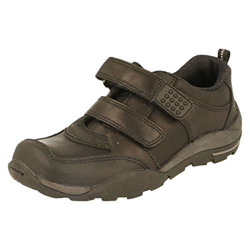 Start-rite, Sneaker bambini, Nero (Black Leather), 13 UK