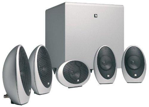 KEF KHT1005.2 5.1-Lautsprechersystem silber
