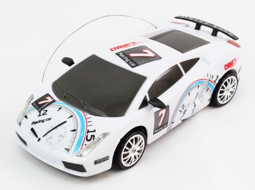 41qD90vZGcL Cheap Buy  1:24 Scale Full Function Graffiti EXTREME DRIFT RC Lamborghini Gallardo Drifting Car Remote Control (Colors May Vary)