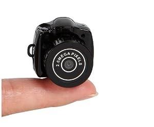 Yosoo NEW HOT New Smallest Mini Camera Camcorder Video Dv Dvr Hidden Web Cam Color: Black-808, Home Improvement Tool