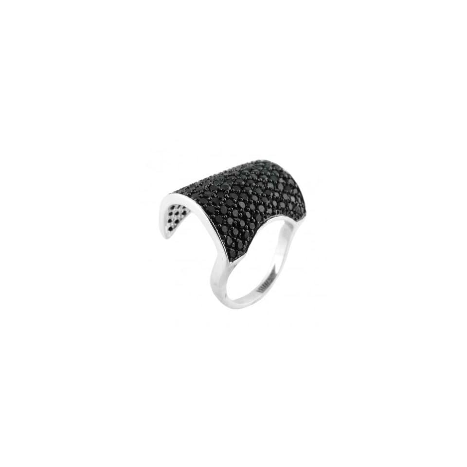 Beautiful Bridge Style Silver Wedding Ring, Crafted with High Quality