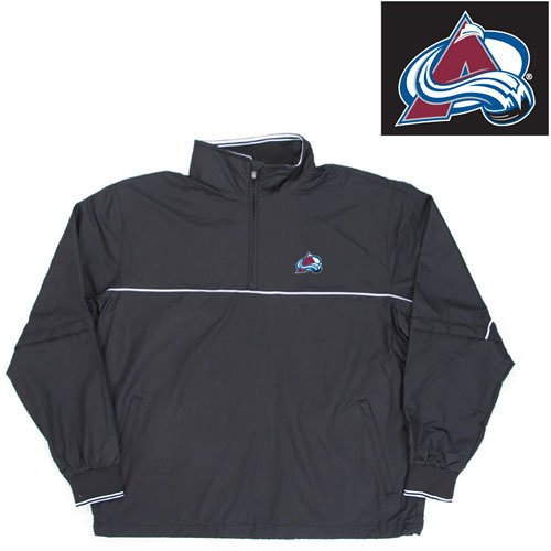 "Buy Colorado Avalanche NHL ""Omni"" Pullover Windshirt (Black)"