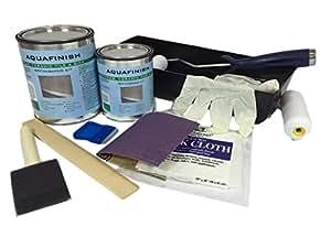 AquaFinish Bathtub and Tile Refinishing Kit Household