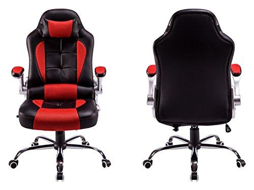 best deals office chair ergonomic racing style high back swivel