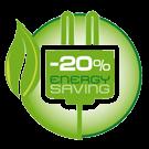 -20% Energy Saving