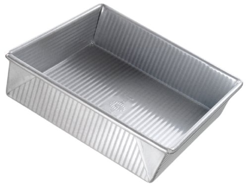 USA Pan Bakeware Aluminized Steel 9 X 2.25 Inch Square