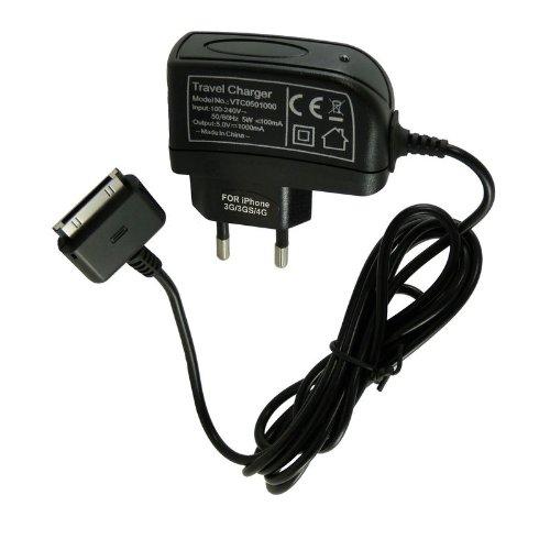 acce2s chargeur secteur pour apple iphone 4 8go 16go 32go rapide 1000 mah chargeurs secteur. Black Bedroom Furniture Sets. Home Design Ideas