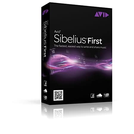 Sibelius First (Multi-Language) Version 7.1 - 1 User