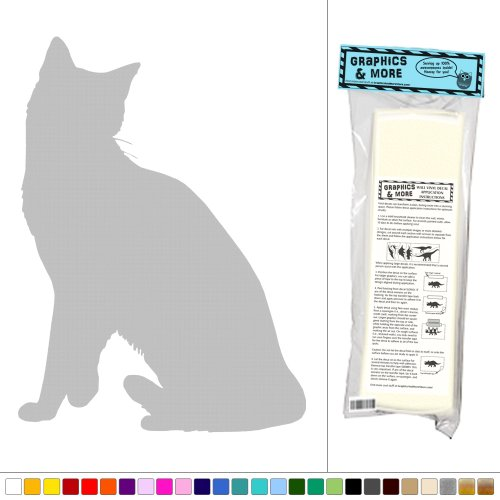 Cat Snowshoe - Vinyl Sticker Decal Wall Art Decor