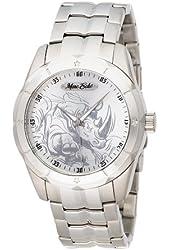 Marc Ecko Men's E95042G6 Suprement Silver Analog Bracelet Watch
