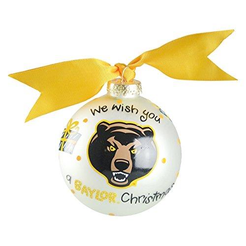 Baylor We Wish Ornament