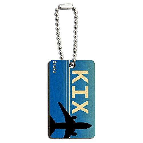 osaka-japan-kansai-intl-kix-airport-code-wood-wooden-rectangle-key-chain