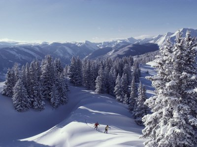 Cross-Country Skiing in Aspen, Colorado