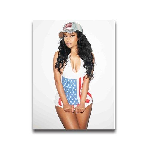 Fan-poster Nicki Minaj Custom Poster 18*24 inch Wall sticker bedroom decor (Nicki Minaj Decal compare prices)