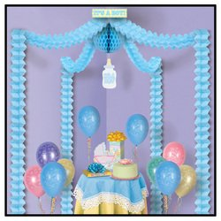It'S A Boy Party Canopy Party Accessory (1 Count) (1/Pkg)