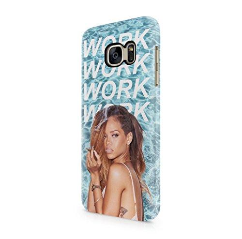 Rihanna-Work-Lyrics-Samsung-Galaxy-S7-Hard-Plastic-Case-Cover