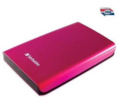 VERBATIM Store 'n' Go portable external hard drive - USB 3.0 - 500 GB - pink from Verbatim