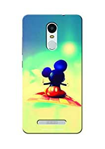 Sowing Happiness Printed Back Cover For Xiaomi Redmi Note 3