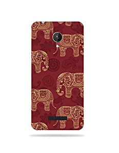 Micromax Canvas Spark Q380 Printed Mobile Case / Back Cover (GD454)