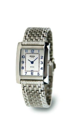 Boccia Ladies Titanium Bracelet Watch B3141-08