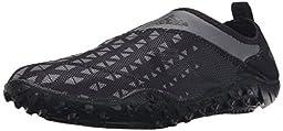 adidas Outdoor Men\'s Kurobe II Water Shoe, Vista Grey/Black/Black, 11 M US