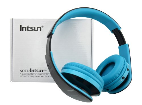 Intsun® Brand New Kg52 Kg5012 Wireless Bluetooth Folding Stereo Earphone Headphone Headset, Heavy Bass Headphones, With Microphone For Smartphone Tablet Ipad Computer, Handsfree Headset Sport Mp3 Player Surpport Sd/Tf Card Fm Radio Function (Tf Card Not I