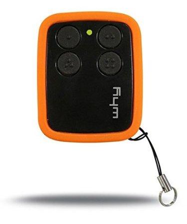 Sice Why Evo, Radiocomando multifrequenza, colore: Nero/Arancione