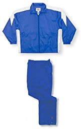 Cobra soccer warm-up jacket/pant set - size Adult M - color Royal/White