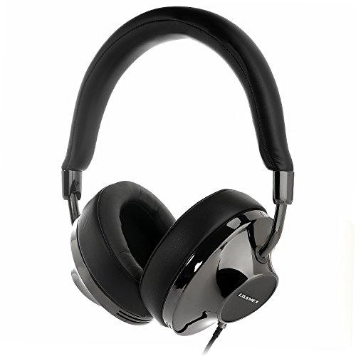 LASMEX 密閉型 ステレオヘッドホン 高音質 Hi-Fiサウンド ハイパフォーマンス ガンメタリック H120