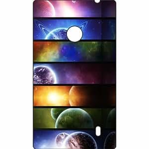 Printland Lumia 520 Glaring Phone Cover