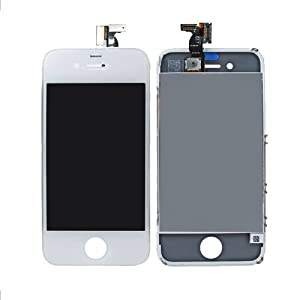 For iPhone 4 4G White full LCD Digitizer Touch Screen Replacement CDMA and VERIZON Verizon