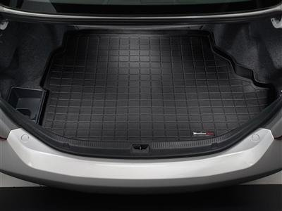 2010-2016 Porsche Panamera Weathertech Black Cargo Liner [Not Compatible with Hybrid Models] (Weathertech Panamera compare prices)