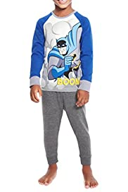Raglan Sleeve Batman Pyjamas [T86-3528C-S]