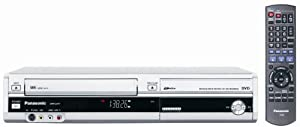 Panasonic DMR-EZ37VS DVD-Recorder/VCR Combo with ATSC Tuner Silver