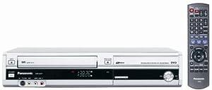Panasonic DMR-EZ37VS DVD-Recorder/VCR Combo with ATSC Tuner Silver