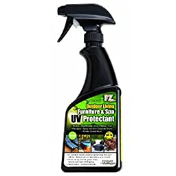 Flitz OLP 12806 Outdoor Living Furniture and Spa UV Protectant with SPF-50, 16-Ounce, Small