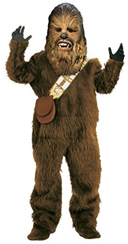 Boys Chewbacca Deluxe Kids Child Fancy Dress Party Halloween Costume