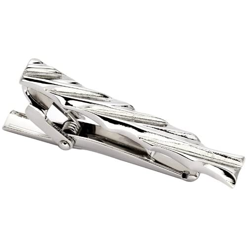 [ブリッラペルイルグスト] Brilla per il gusto  / TIE BAR (TWIST) 24420131441 90 (SILVER/W-6/ONE SIZE)