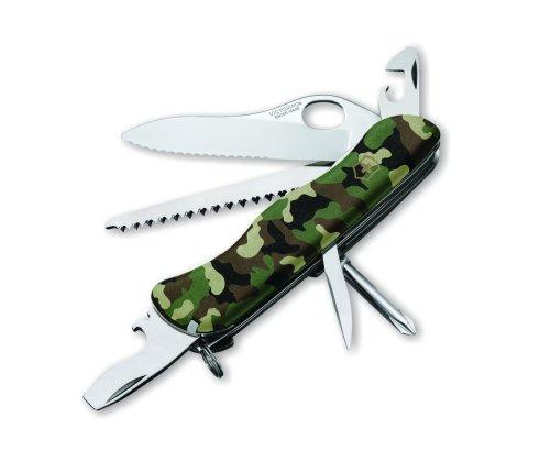 Victorinox Swiss Army One Hand Trekker Camo Ns Pocket Knife