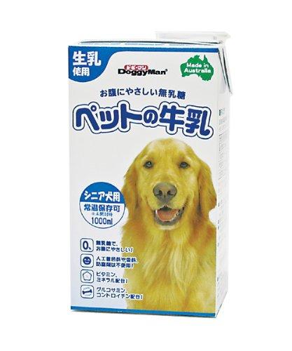 ドギーマン ペットの牛乳 シニア犬用 1000ml