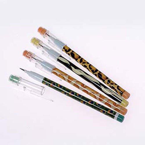 Animal Print Push Point Pencils