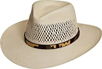 Black Creek Hats BC-9009 Toyo Straw Western Cowboy Hat (XLarge)