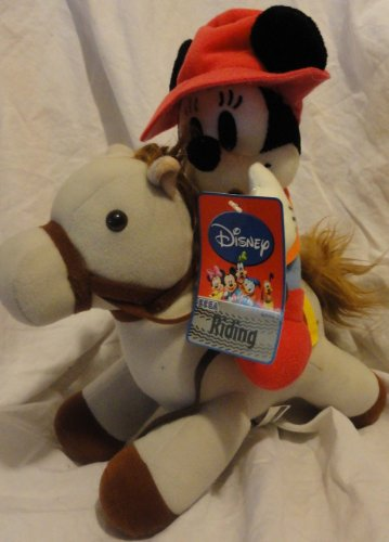 Disney Plush - Mickey Riding a Tan Pony