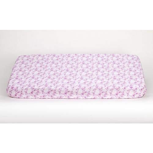 Truly Scrumptious Butterfly Wonderland Fitted Crib Sheet (Pink And Purple)