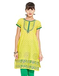 LOVELY LADY Ladies Cotton Solid KURTI - B00ZCC5BZU